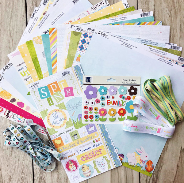 Easter 12x12 Mega Paper bundle