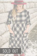 Whimsy Buffalo Plaid Dress