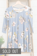 Butter Soft Blue Tunic