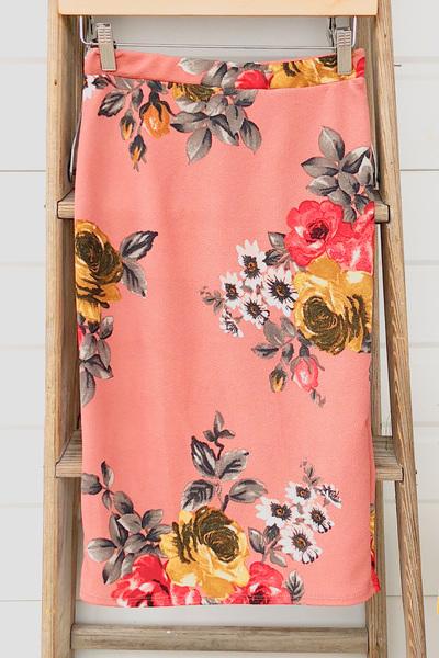 Marsala Spring Skirt