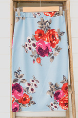 Blue Spring Skirt