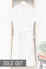 Marlow Grid Dress