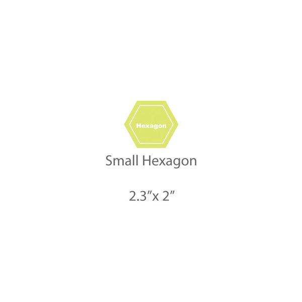 Small Hexagon Template