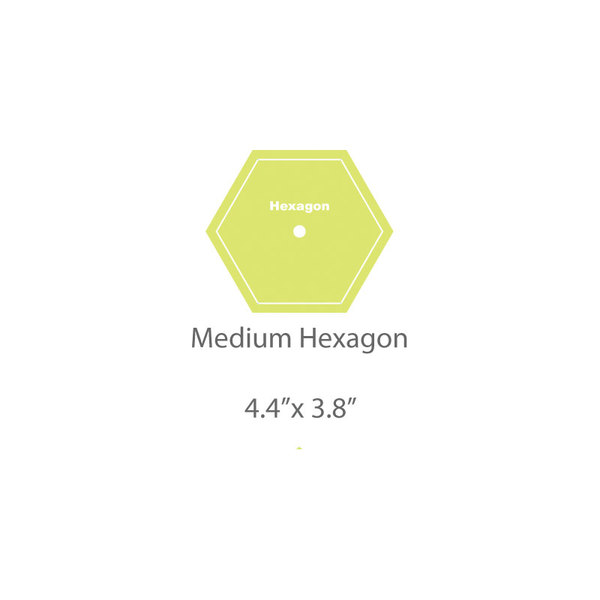 Medium Hexagon Template