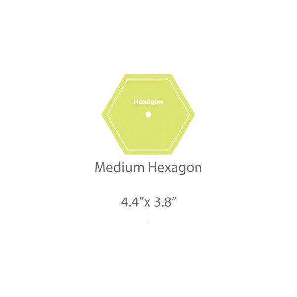 Medium Hexagon Template