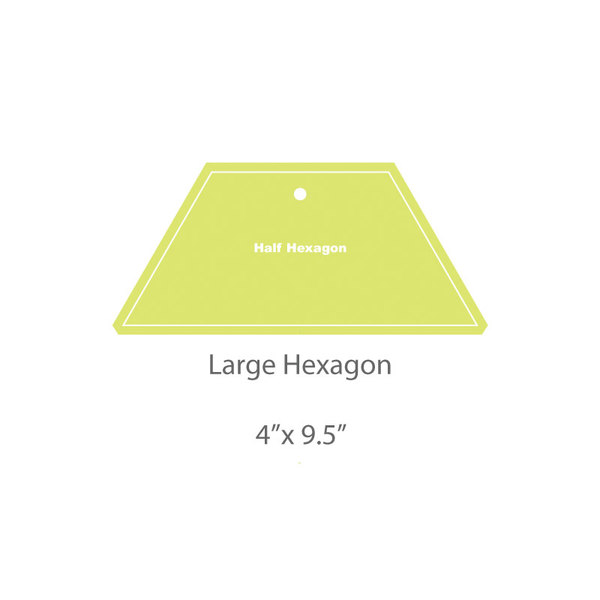 Large Hexagon Template