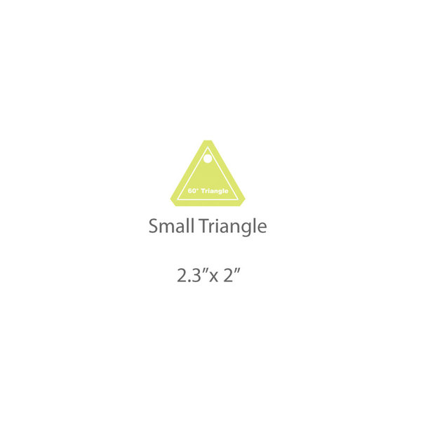 Small Triangle Template