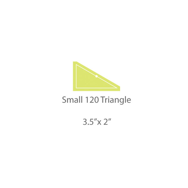Small 120 Triangle Template