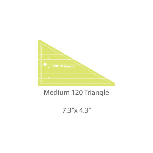 Medium 120 Triangle Template