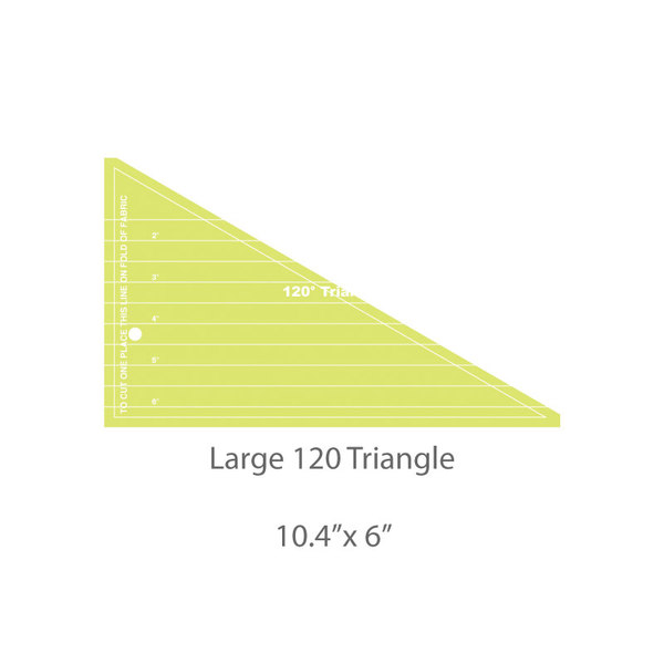Large 120 Triangle Template