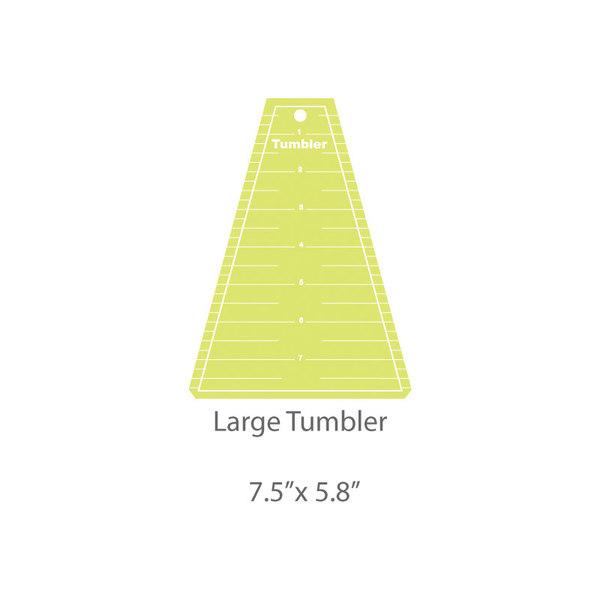 Large Tumbler Template