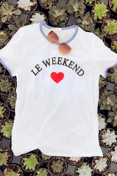 Le' Weekend Tee