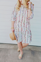 Floral Whimsical Dress