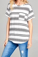 Sophie Stripes Top