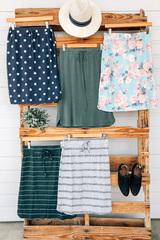 Spring Tie Skirt
