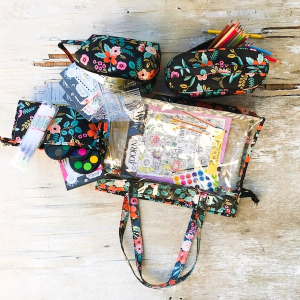 Floral Supply Bag Set