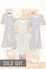2 Stripe Dresses=1 Great Price