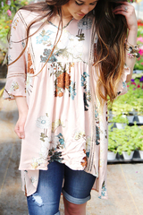 Blush Boho Blouse