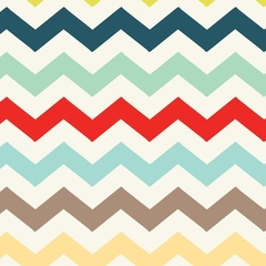 Chevron Multi Mint
