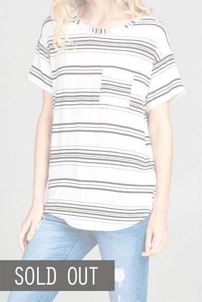 Sophie Stripes Top