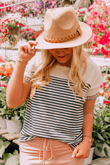 Not Your Basic Stripe Top