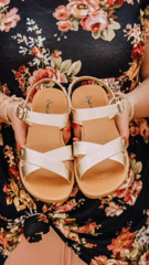 Rose Ocean Ave Sandals