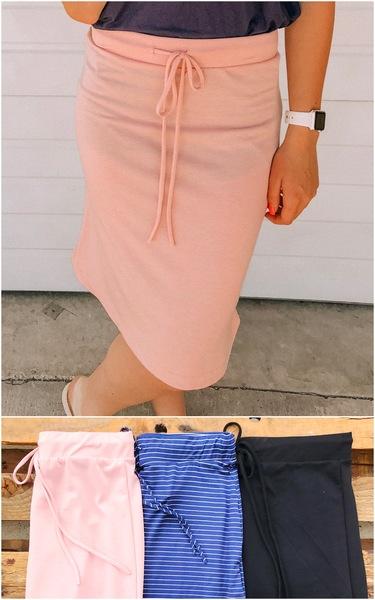 Everyday Tie Skirt