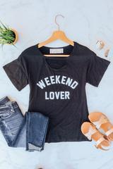 Black Weekend Lover Tee