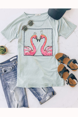 Flamingo Queen Tee
