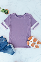 Purple Everyday Track Tee