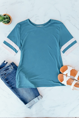 Blue Everyday Track Tee