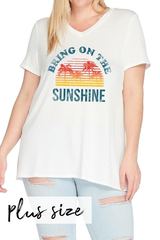 PLUS Bring The Sunshine Tee
