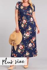 PLUS Nellie Floral Maxi