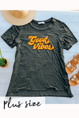 PLUS Good Vibes Tee