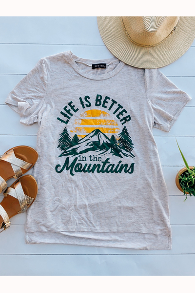 In the Mountains Tee