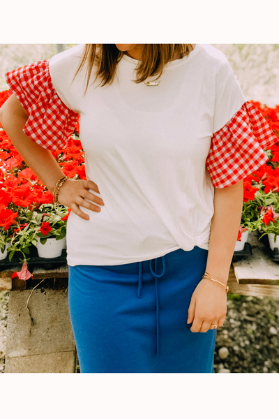 Picnic Sleeve Top