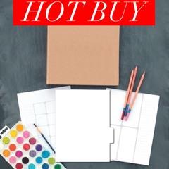 Blank DIY Coloring Planner