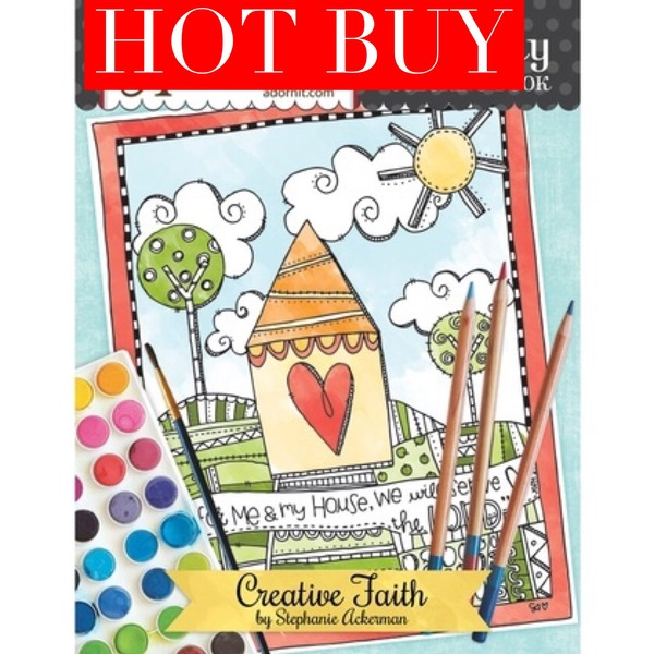 Creative Faith Coloring Book