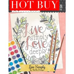 Live Simply Coloring Book