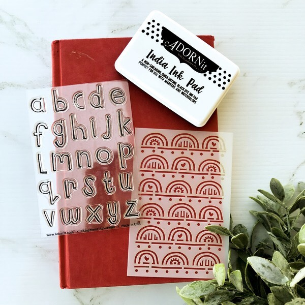 FAITHit Stamp and stencil thin Alphabets