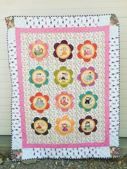 Sunshine Girls Finishing Quilt Kit