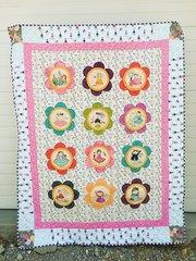 Sunshine Girls Finishing Quilt Kit