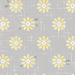 Sweet Daisy Light Gray