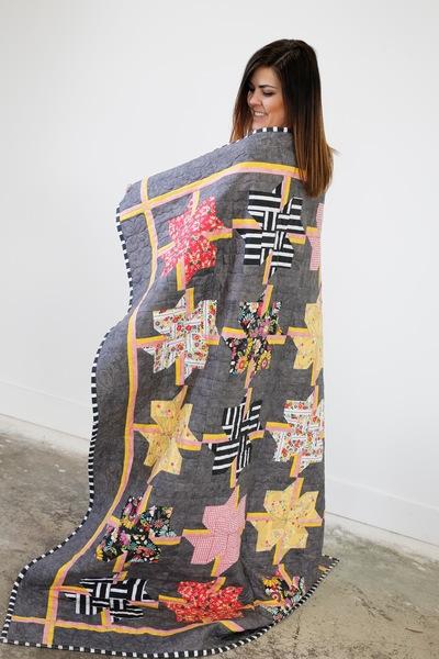 Blooming Pinwheel Quilt Kit