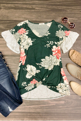 Kennedy Floral Mix Print Top