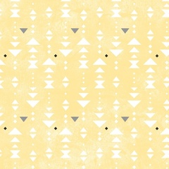 Triangle Stripe Yellow