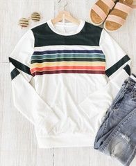 Rainbow Stripes Long Sleeve
