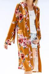 Adalynn Floral Maxi Cardi