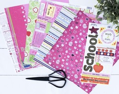 Girl- Back to School Paper Pack