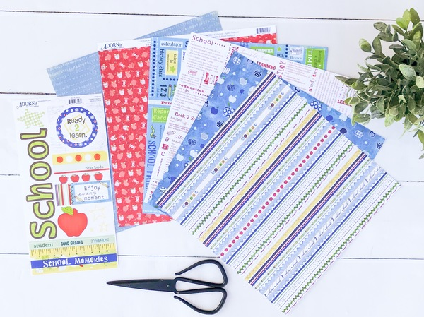 Boy- Back to School Paper Pack
